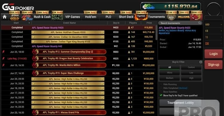 Asia Poker League 2021 Comeback With a Second Edition at GGPoker